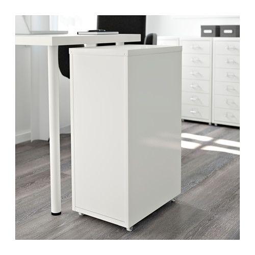 HELMER Skuffeelement på hjul - hvid - IKEA