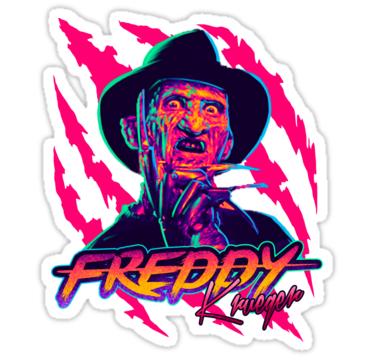 Freddy Krueger Stayrad Stickers By Gerkyart Redbubble Freddy Krueger Art Horror Movie Art Horror Movie Icons