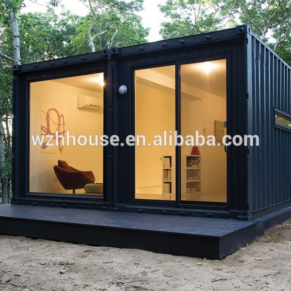 Building Container Homes Cost: Low Cost Prefab Tiny Container House 20ft