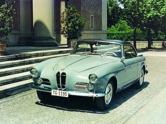 The BMW 503 is a two door 22 seater sports car unveiled by BMW at
