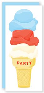 Kids Birthday Party Invitation | Folded Words