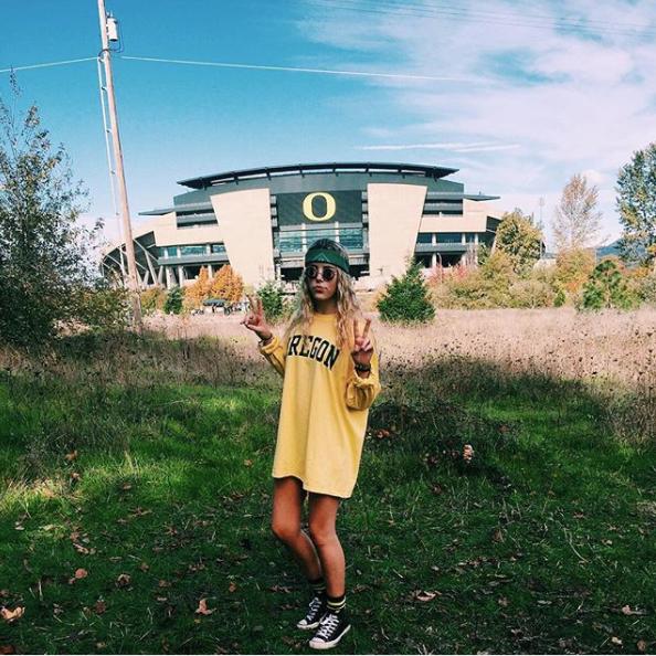 Oregon Oregon College University Of Oregon Dream College