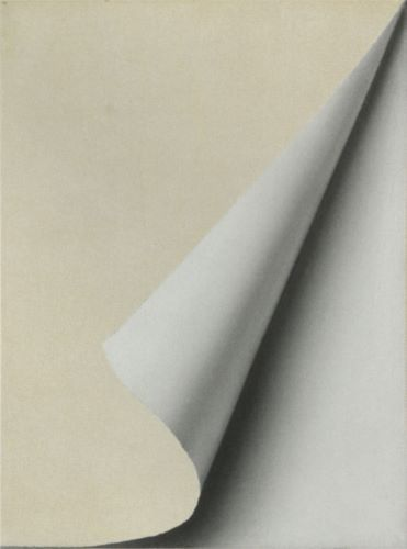 A favorite work of art: Umgeschlangenes Blatt/ Turned Sheet by Gehrard Richter, 1965; Oil on Canvas