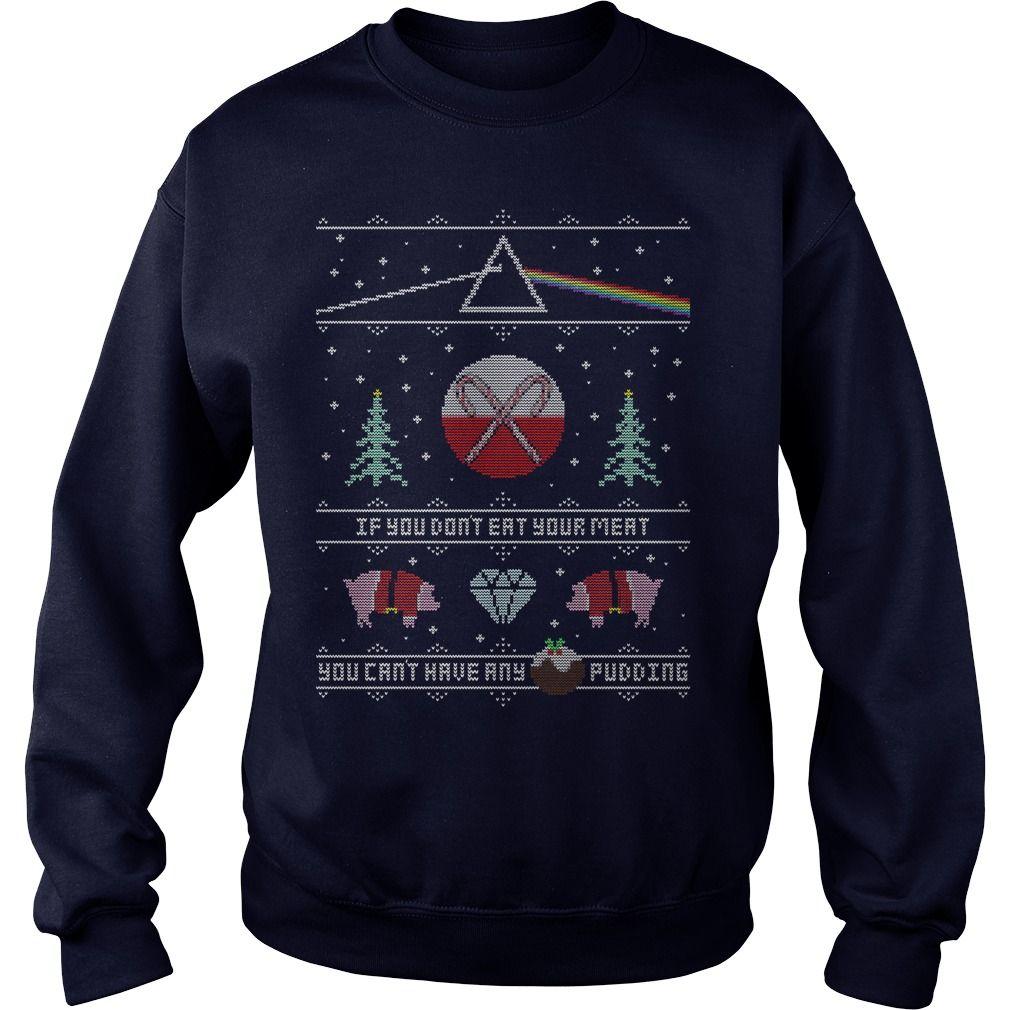 Pink Floyd Ugly Christmas Sweater Hoodie Sweater And Longsleeve