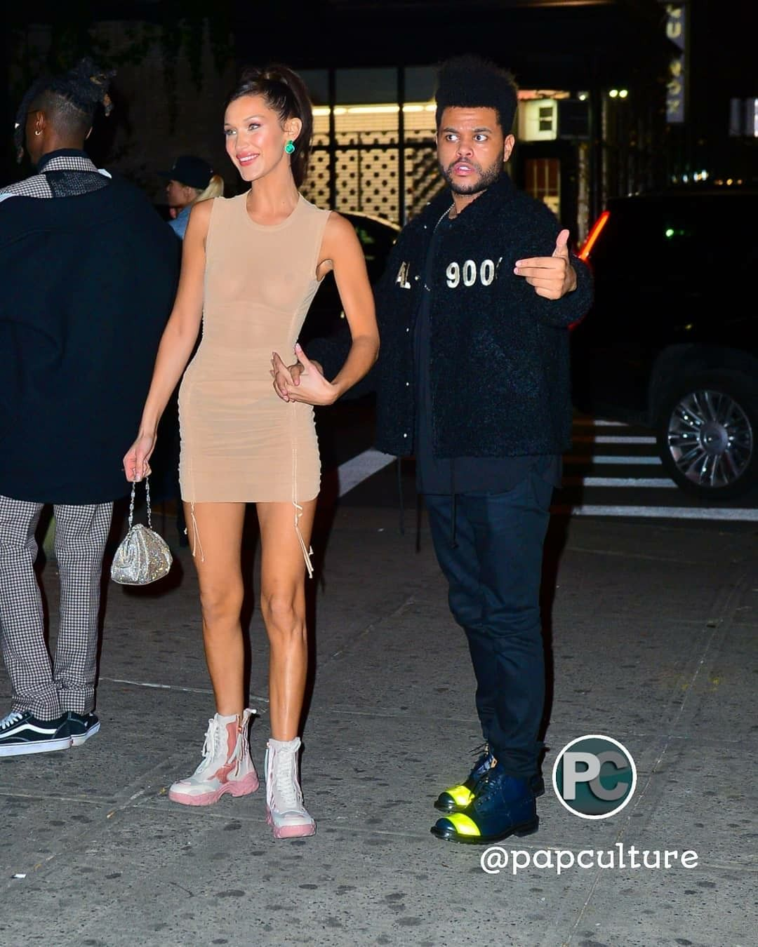 5dfd4f60411 11 8 18  Bella and The Weeknd leaving the Victoria s Secret afterparty in NY