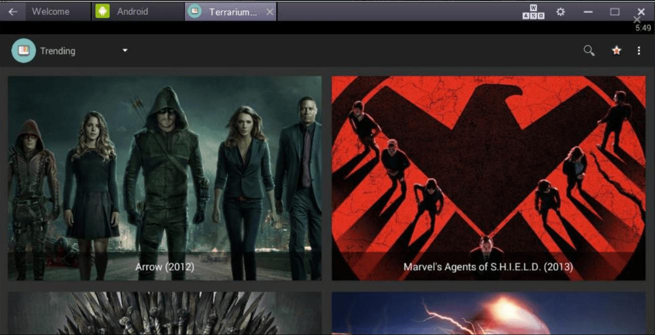 Download Terrarium Tv for PC Laptop Windows 10/8.1/7 & Mac