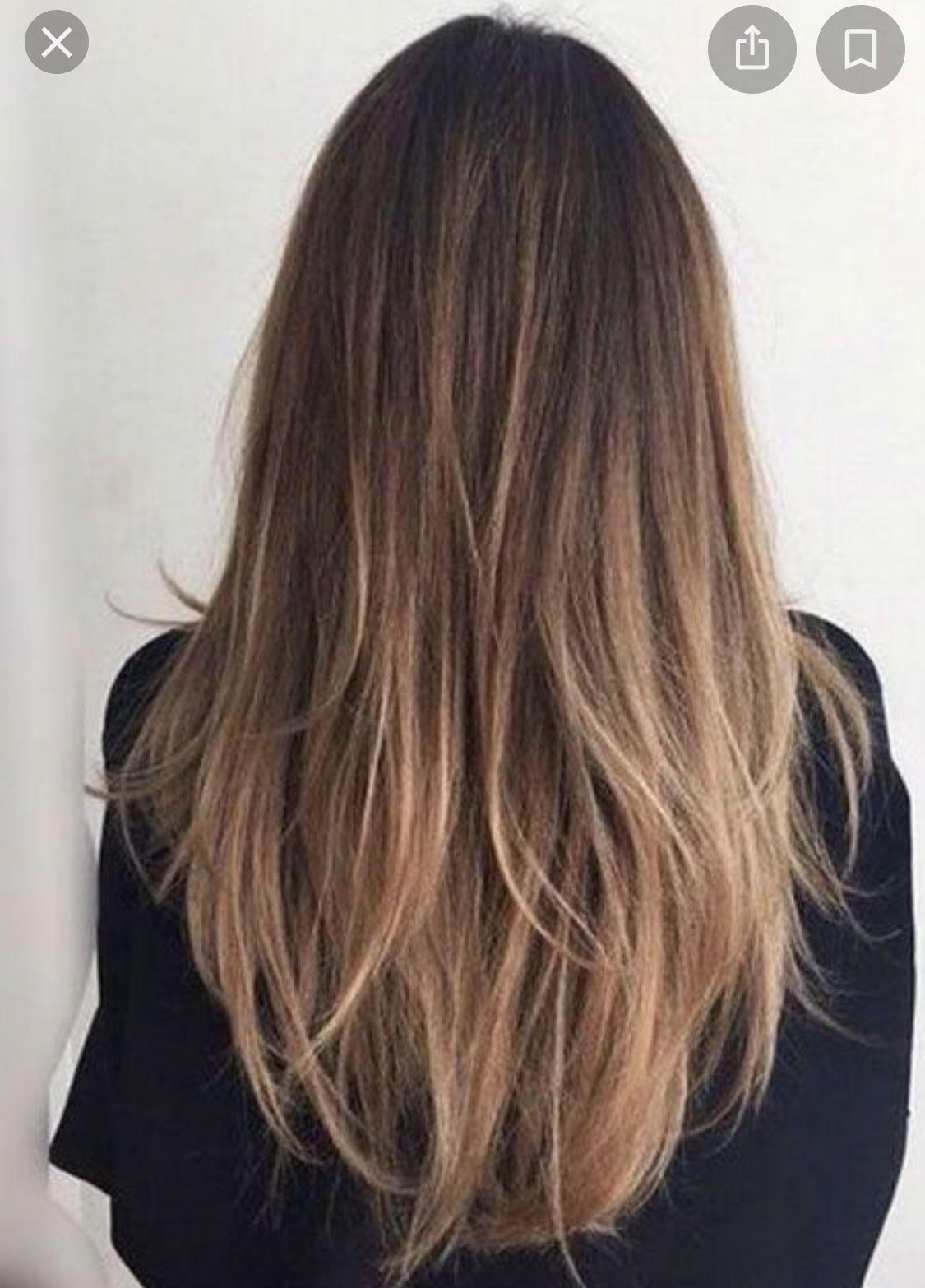 Dark Blonde Warm In 2020 Natural Straight Hair Balayage Straight Hair Straight Hairstyles