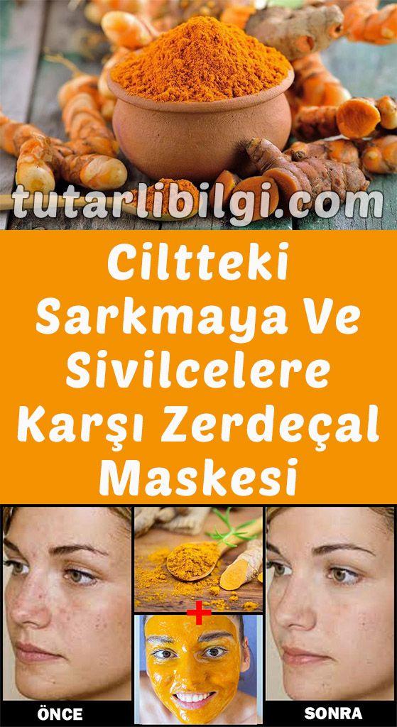 Zerdeçal Maskesi İle Cildiniz 10 Yaş Genç Kalacak #ciltbakımı