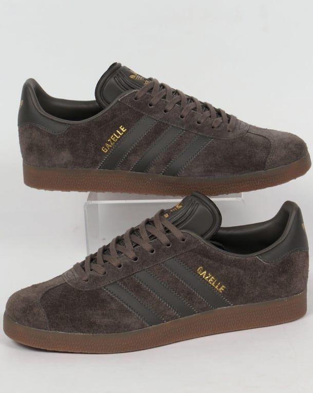 Utility Grey/Gum | Adidas gazelle