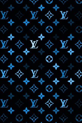 Lv In Blue Brand Names Pinterest Iphone Wallpaper Wallpaper