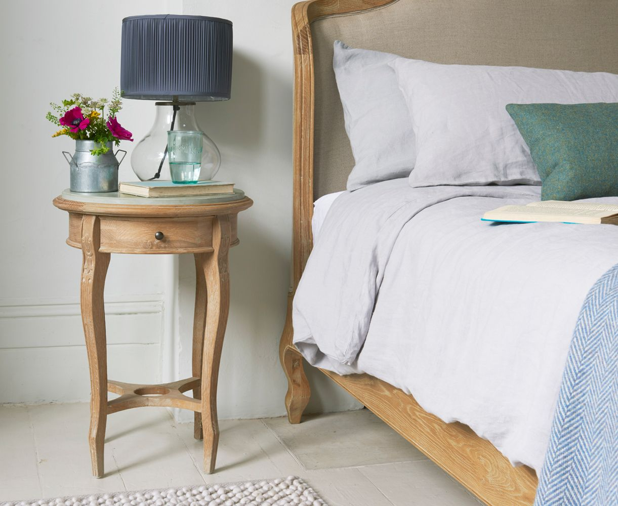 Bella Bedside Table With Our Joëlle Bed