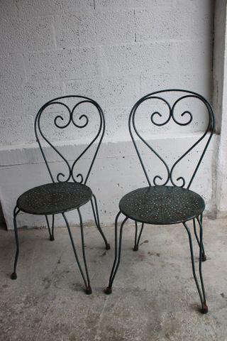 Sillas de hierro de jard n la tienda de etxekodeco http for Sillas hierro jardin