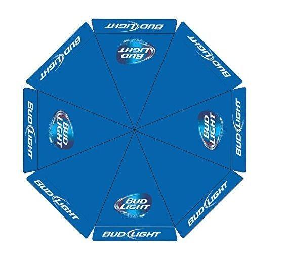 Bud Light 9 Foot Beer Umbrella Market Patio Style New Huge