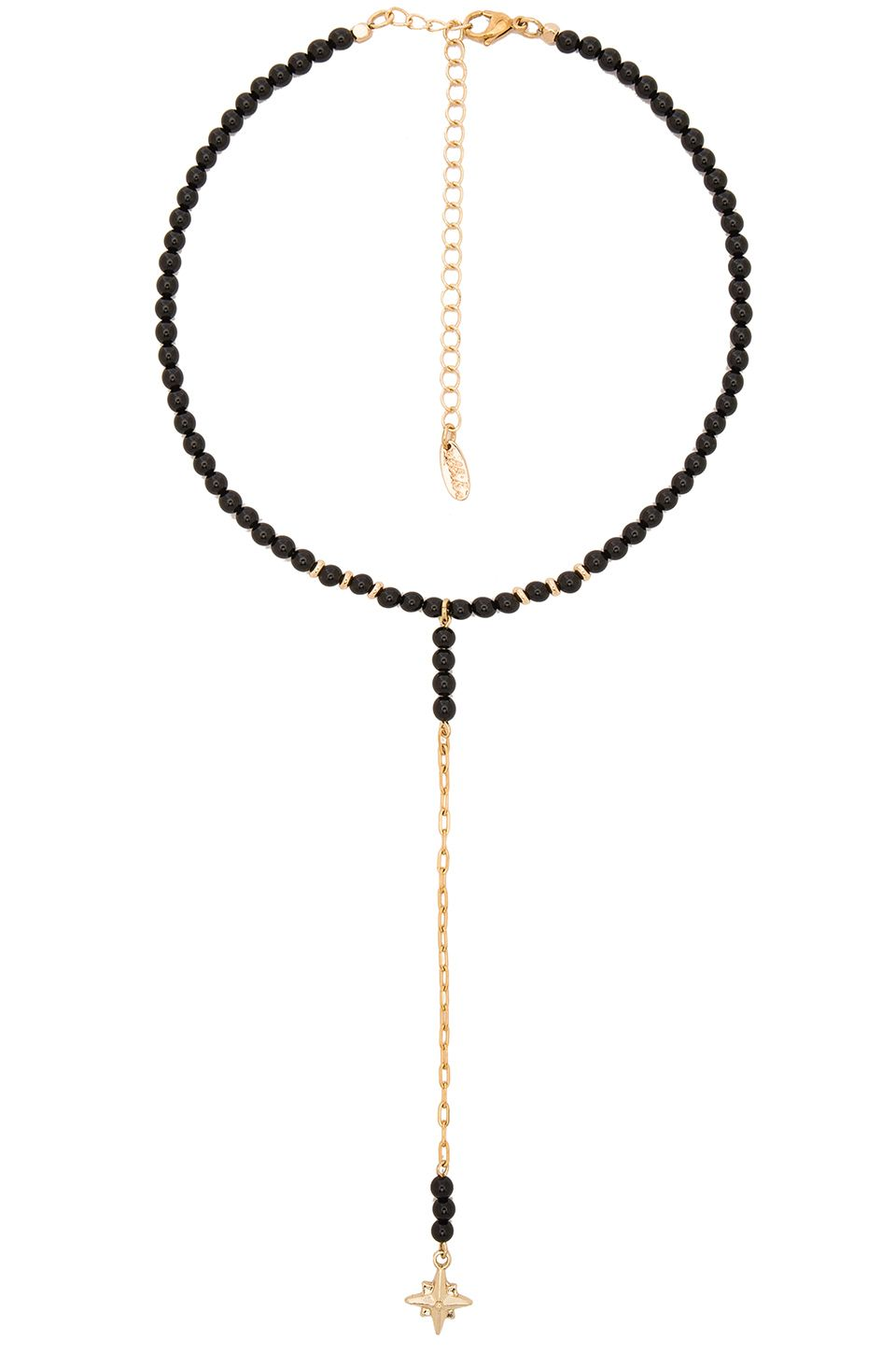 Ettika Rope Beaded Layered Choker in Metallic Gold qb7JpN