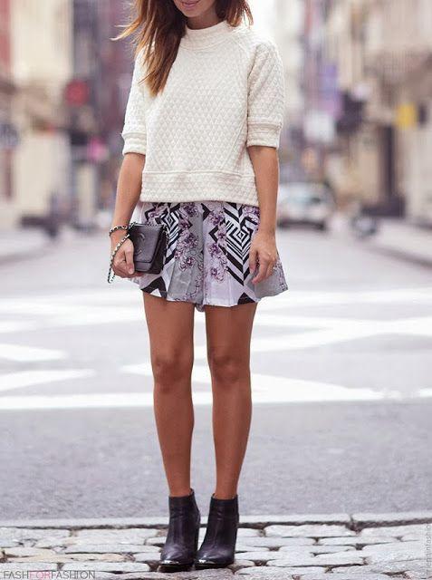 skirt & #booties