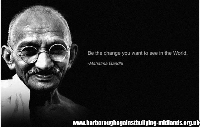 Anti Bullying Inspirational Quotes By Famous People Gandhi Quotes People Quotes