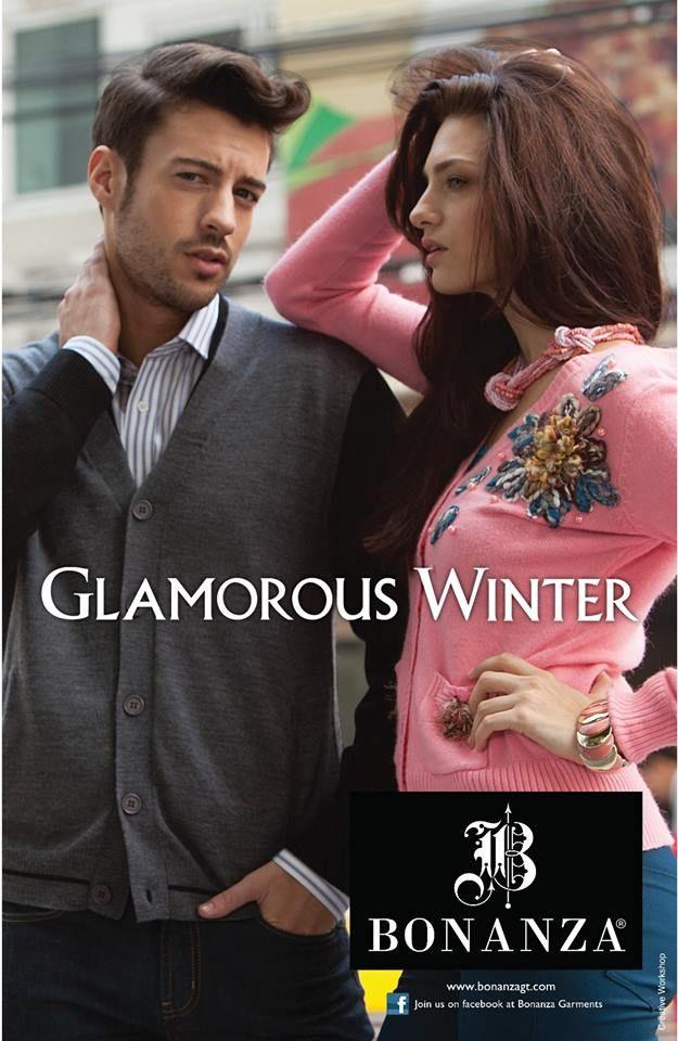 Bonanza Stylish Winter Wear Dresses 2014 For Men Women 6 Bonanza Stylish Winter Wear Dresses 2014 For Men & Women