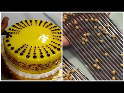 Fan-shaped chocolate making skills - YouTube Schokodeko - how to make halloween decorations youtube