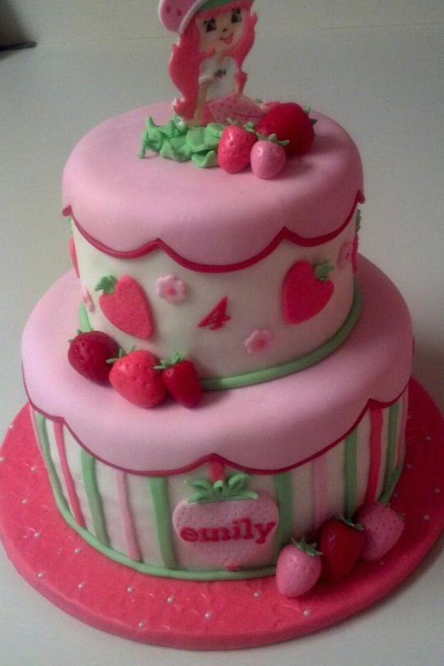 Little girls birthday cake Awesome cakes Sugar Rush by Theresa