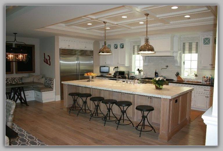 Klarge Kitchen Island Related To Large With Seating