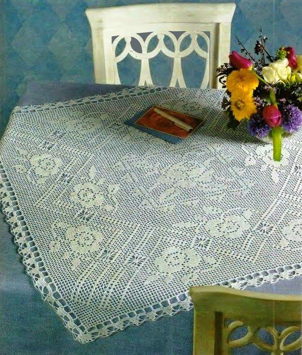 Centerpiece hobbies needlework embroidery crochet for Pizzi uncinetto per tovaglie