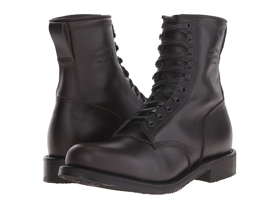 Chippewa 8 service boot mens work boots black boots