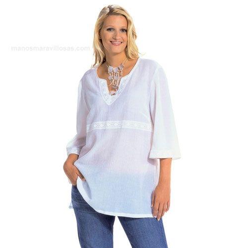 Burda Mujer Tallas Grandes Camisetas Bu8100 Confección De Ropa Patrones De Blusa Ropa Y Accesorios