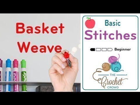 Photo of Basket Weave Stitch – Die Häkelmenge # häkeln lernen linkshänder Basket Weav …