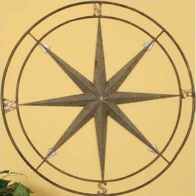 Compass Wall Decor | Southwestern, Rustic, Spanish-Mexican Design ...