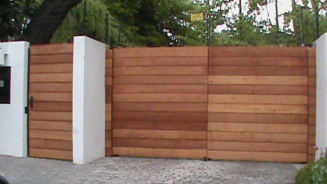 Deco arte portones de madera puertas pinterest las - Portones de madera para exterior ...