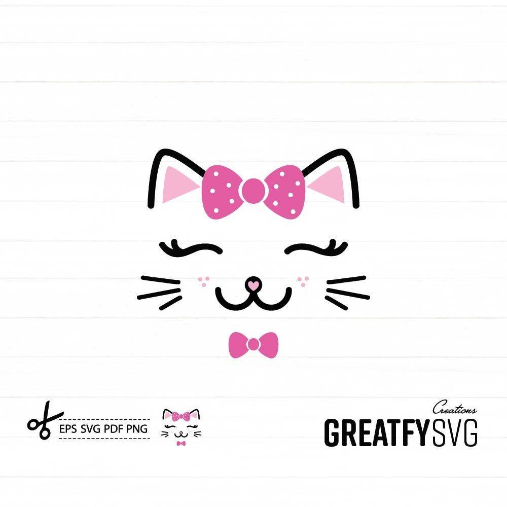 Cat Face Svg Cat Design Png Cat Face Cute Design Print Etsy In 2021 Cat Face Cat Design Svg
