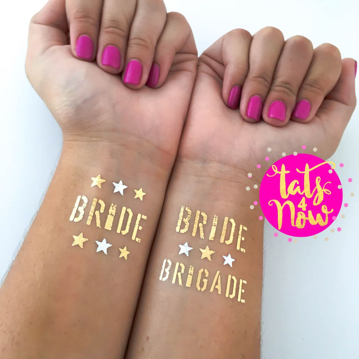 16 Military Bride Brigade and Bride party tattoos | Bachelorette ...