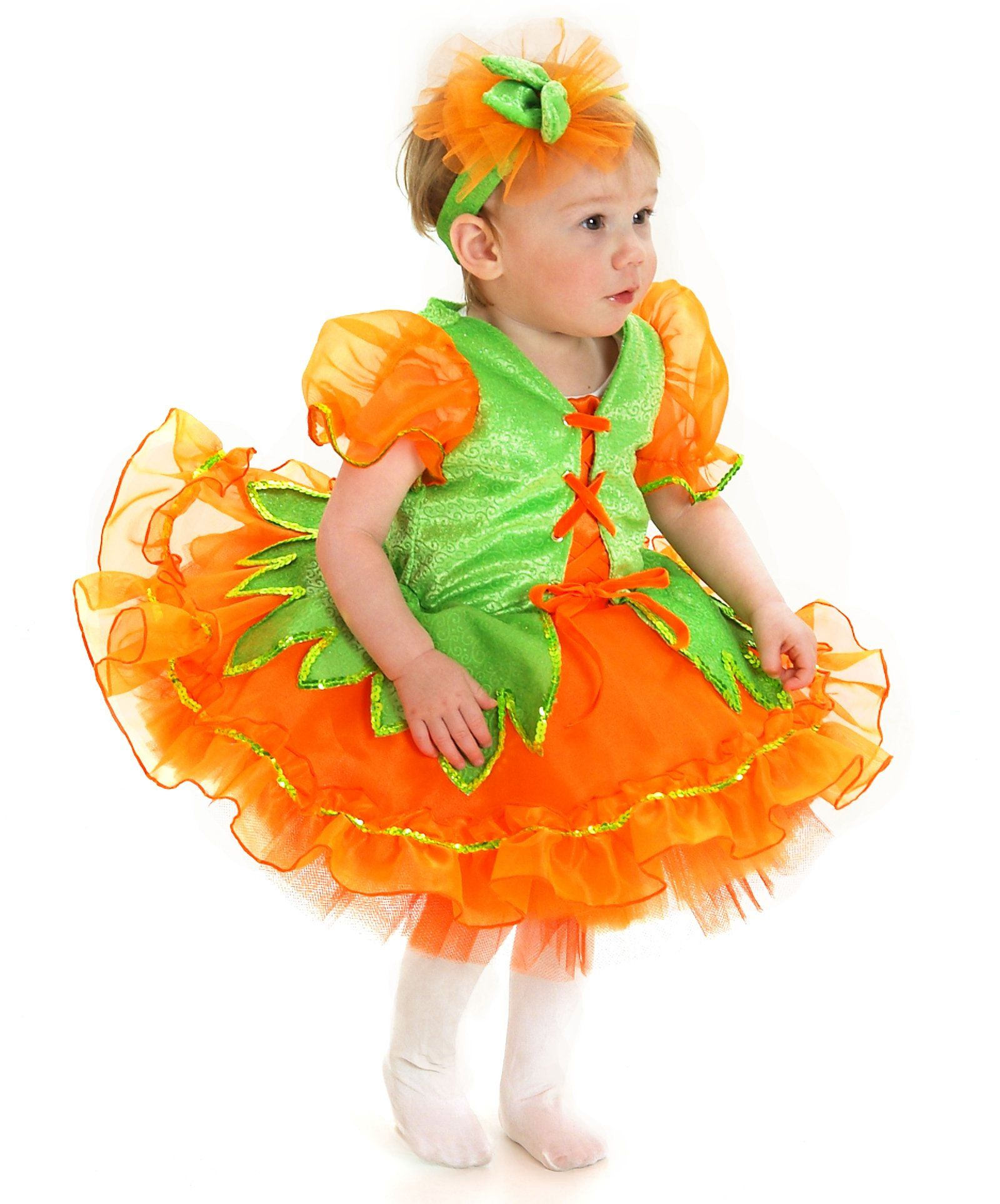 Happy halloween · Pumpkin Princess Infant / Toddler Costume ...  sc 1 st  Pinterest & Pumpkin Pie Toddler Costume | Infant girl halloween costumes ...