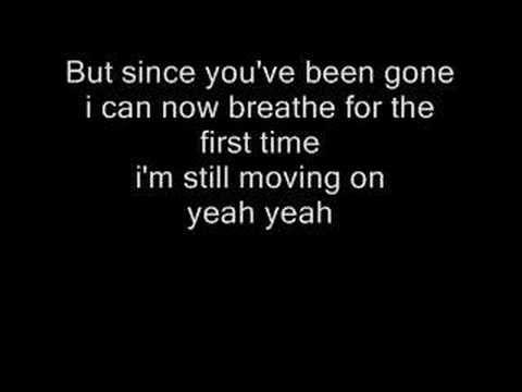 Kelly Clarkson S Since U Been Gone Lyrics Girl Power Songs Kelly Clarkson Lyrics