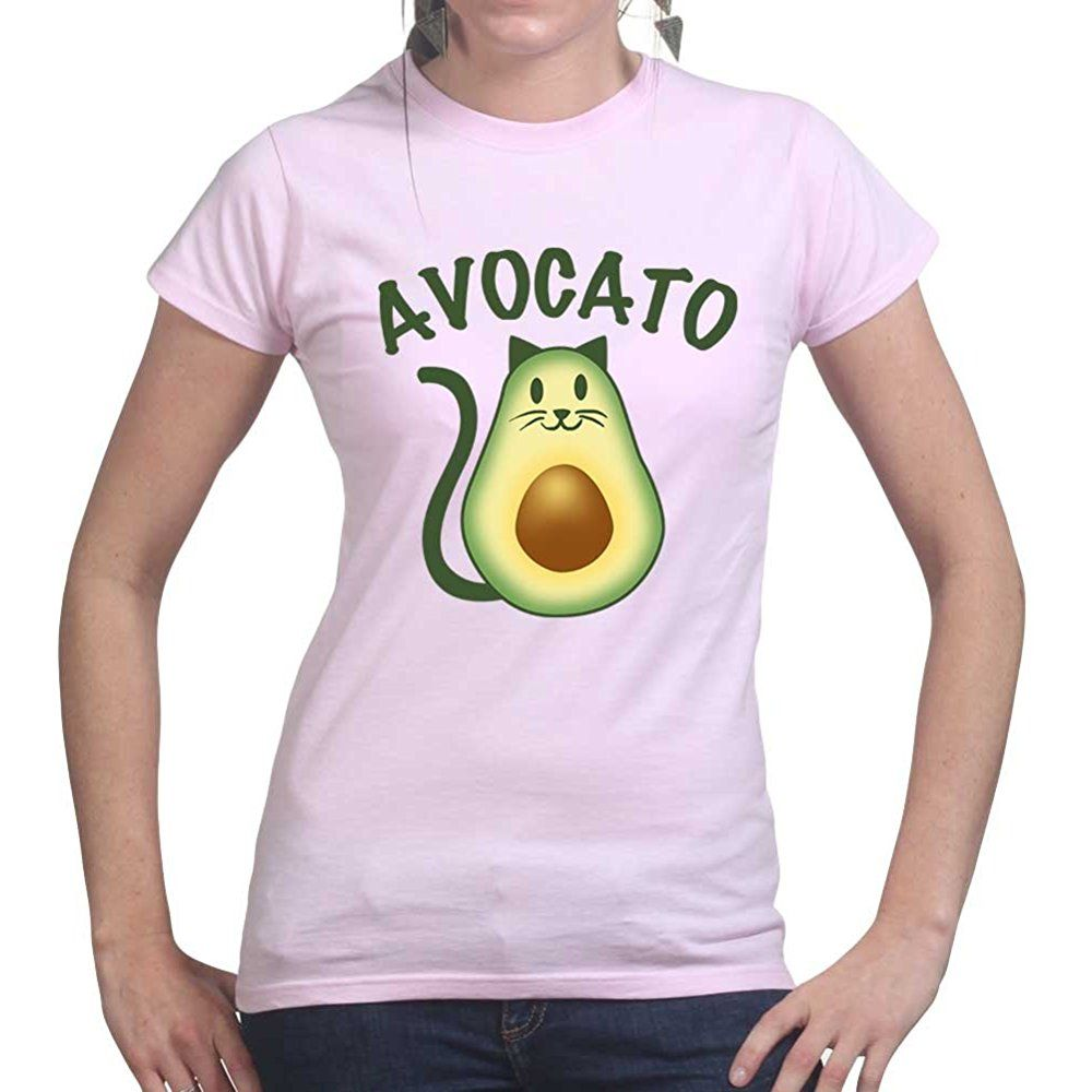 Avocato Cat Avocado Womens T-Shirt