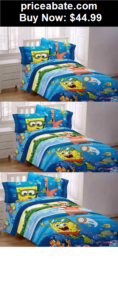 KidsBedding SpongeBob Bed Comforter Twin Bedding Boys