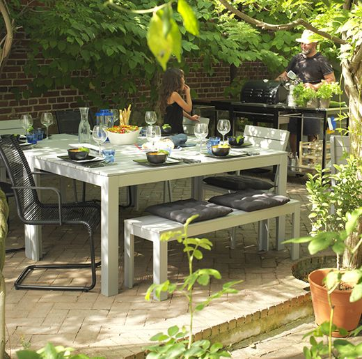 Ikea Falster Outdoor Dining Table And