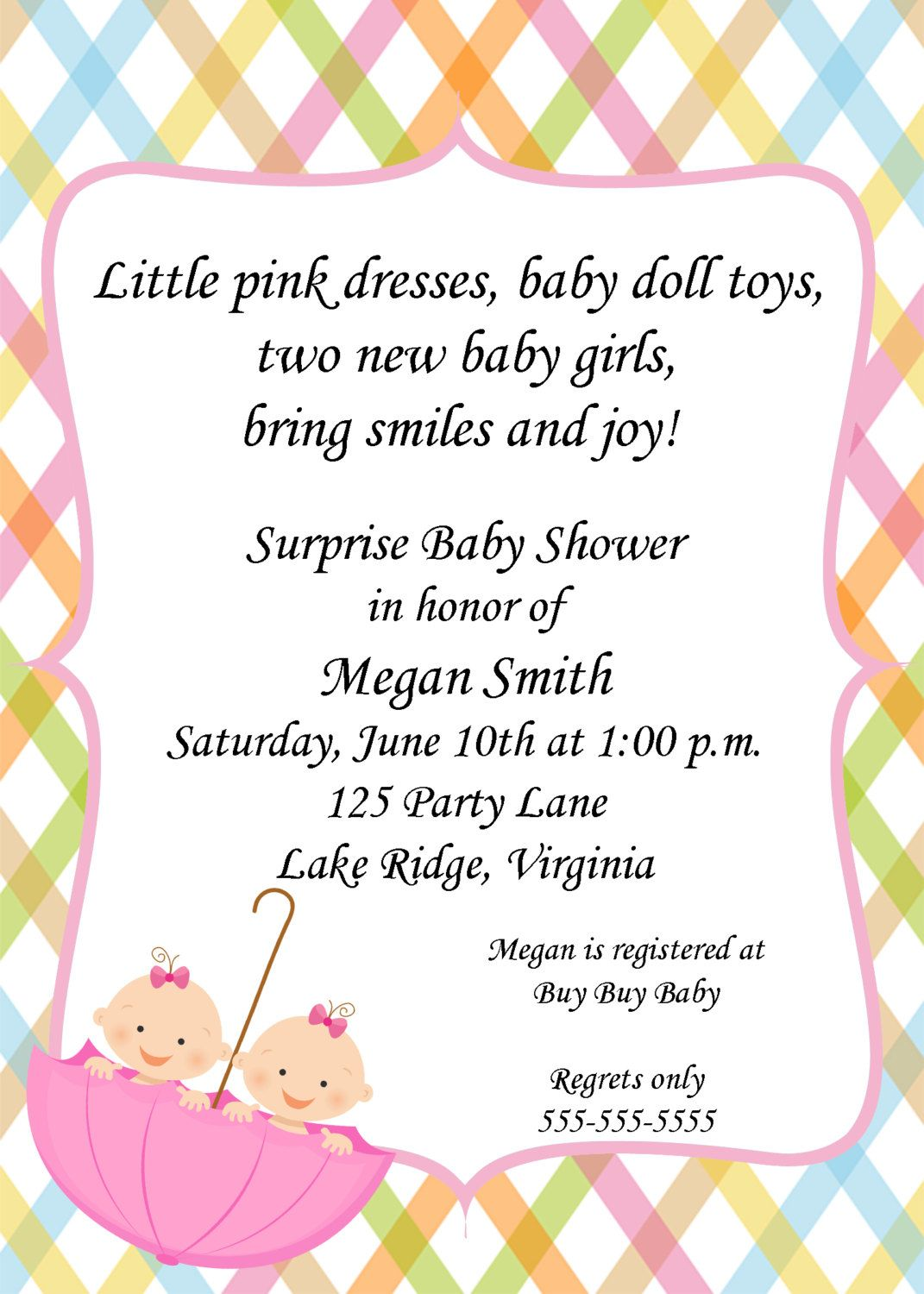 Invitations Templates Baby Shower Invitations For Twins Boy And