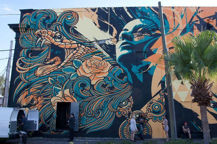 Downtown st petersburg murals infusing streets alleys