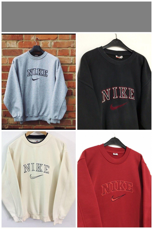 Vintage Nike Sweatshirt Gre Xxl Hervorragender Zustand Depop Buyvintagecl Buyvintagecl Depop Hervorragender Shoeaes In 2020 Vintage Nike Vintage Sweatshirt Sweatshirts