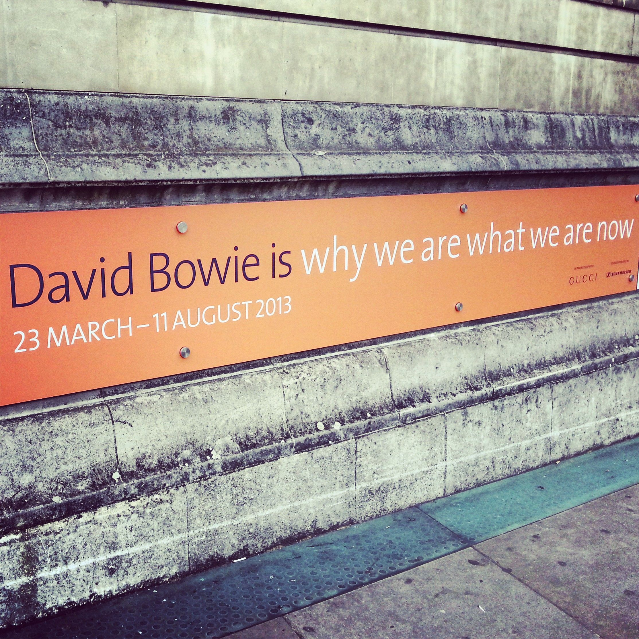 David Bowie Exhibition // Victoria & Albert Museum