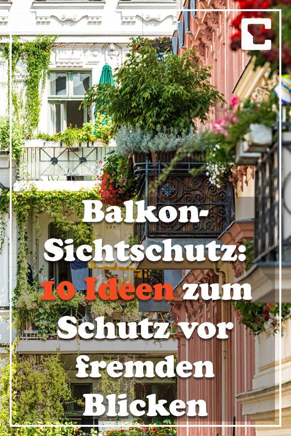 Balkon-Sichtschutz: 10 Ideen zum Schutz vor fremden Blicken