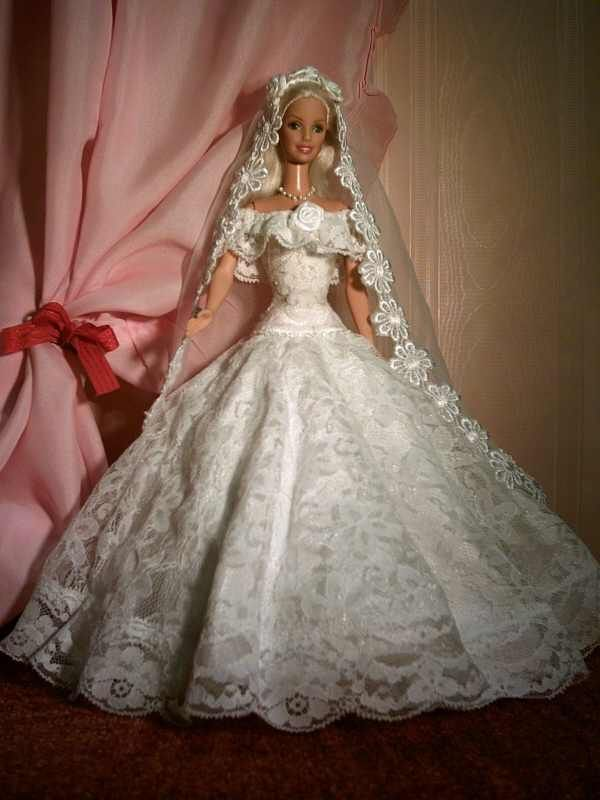WEDDING GOWN | American Girl DIY projects | Pinterest | Barbie ...