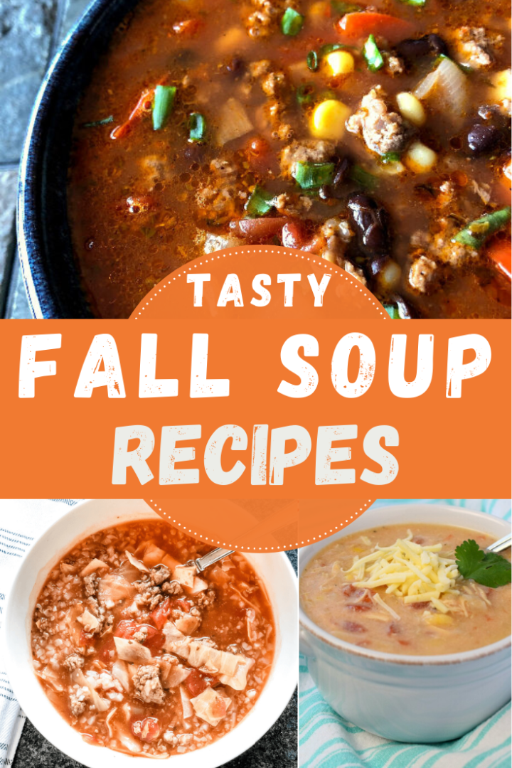 Delicious Fall Soup Recipes Mom Wife Busy Life In 2020 Fall Soup Recipes Fall Soups Soup Recipes