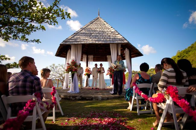 Our wedding at cap Maison St Lucia caribbean www