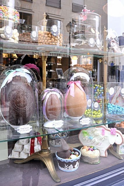 Parisian Easter display