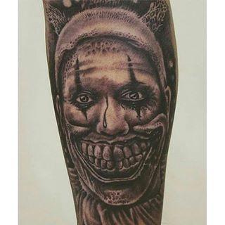 Clown by Mr. Tshering of Calcutta Ink