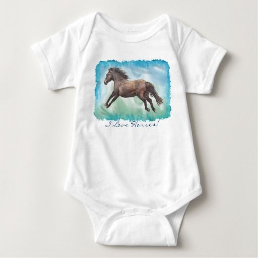 Horse lover equine design clothing by skye ryan evans horse themed baby red and green first christmas baby bodysuit red gifts color style cyo diy personalize unique negle Gallery