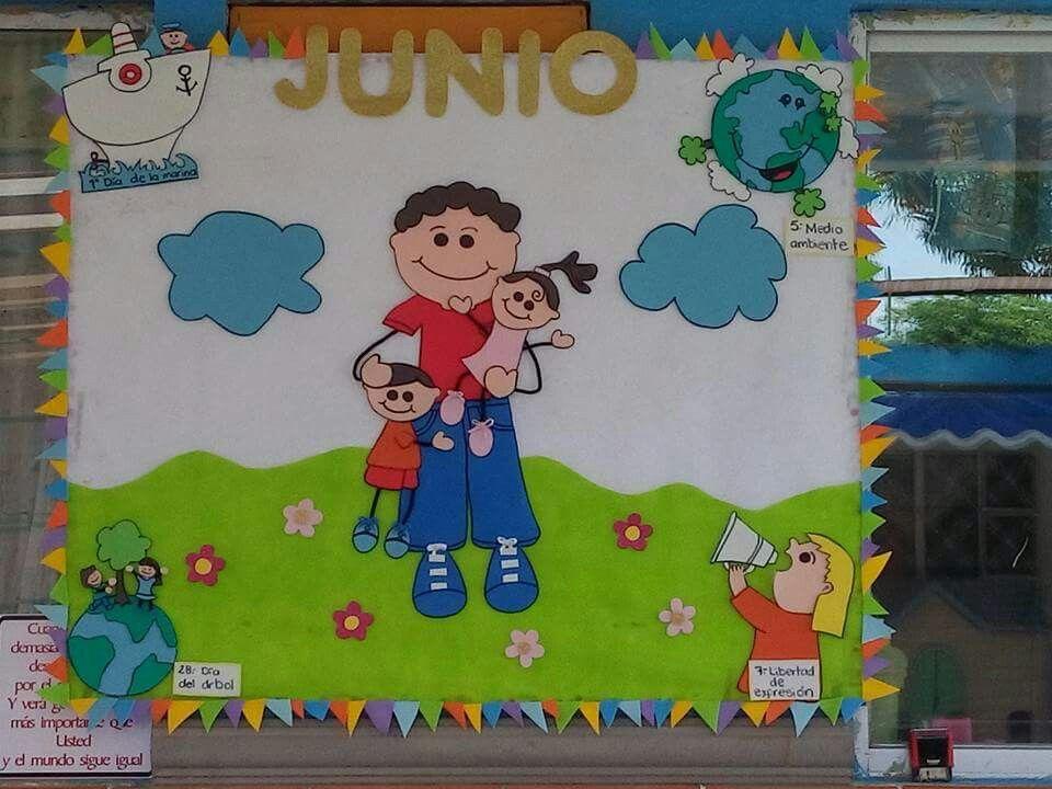 Periodico Mural Periódicos Murales Periodico Mural De Junio