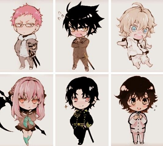 Seraph of the end / chibi